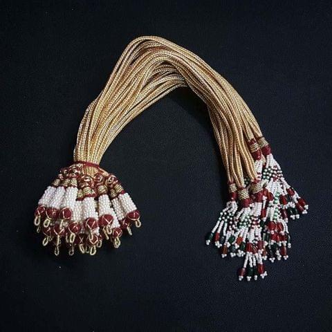 1 Dozen, 12 Inch Multi Colour Necklace Dori (Sarafa)