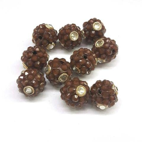 Brown, Takkar Ball 16mm, 10 Pieces