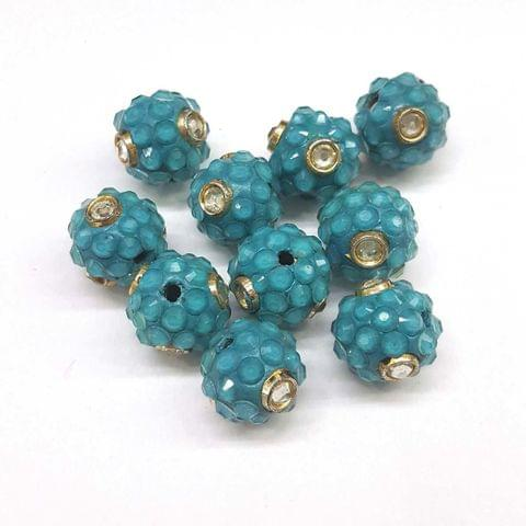 Blue, Takkar Ball 16mm, 10 Pieces