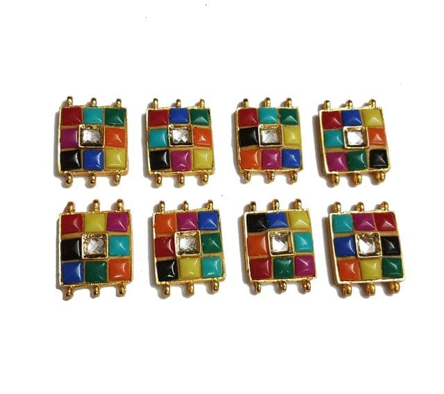 8 pcs Multi Color Color Spacers 30x22mm