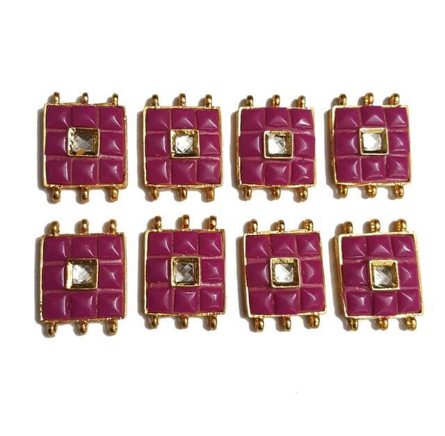8 pcs Pink Color Spacers 30x22mm