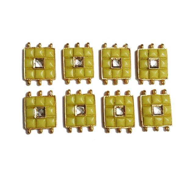 8 pcs Yellow Color Spacers 30x22mm