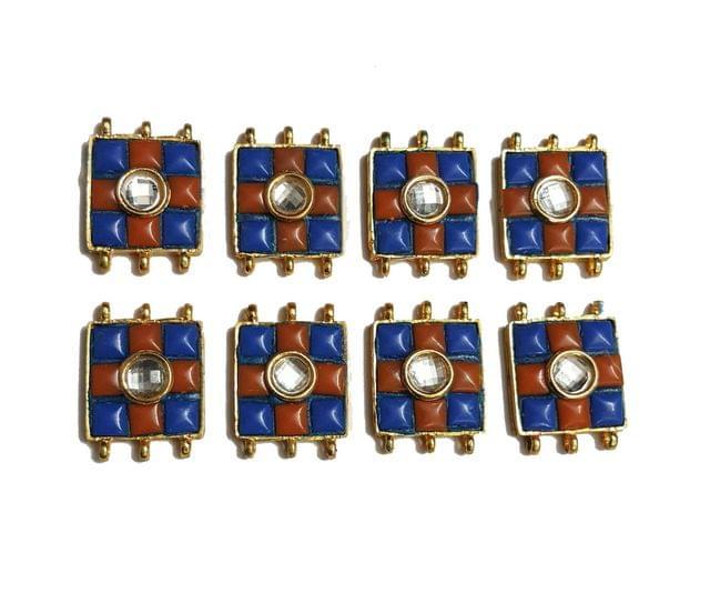 8 pcs Brown Color Spacers 30x22mm