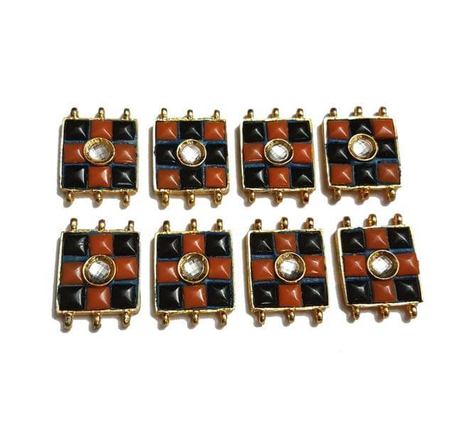 8 pcs Black Color Spacers 30x22mm