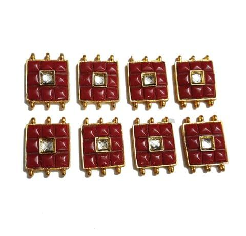 8 pcs Red Color Spacers 30x22mm