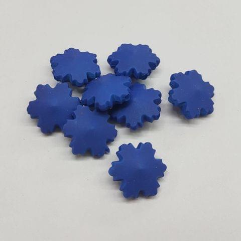 Blue, Acrylic Flower 16mm, 100 pcs