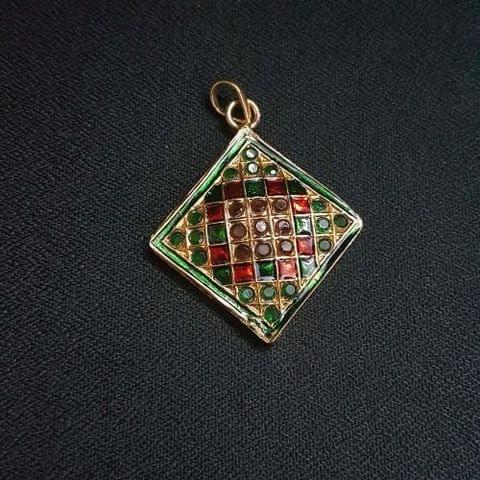 1 pc, Jadau Jewellery Pandel For Jewellery Making, 26mm