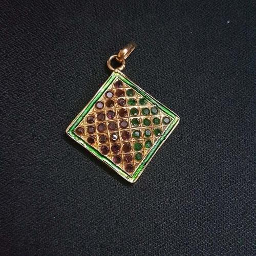 1 pc Jadau work Jewellery Pandel 26mm