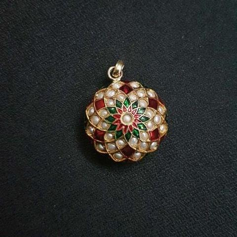 1 pc, Jadau Jewellery Pandel For Jewellery Making, 25mm