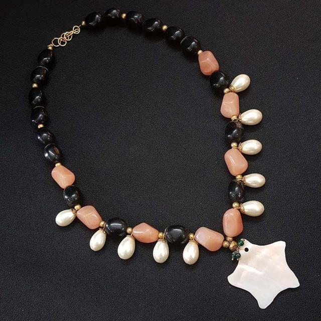 Multi Beaded Mala Necklace For Women / Girls