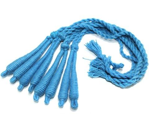 4 Pcs Thread Necklace Dori Sky Blue 15 inch