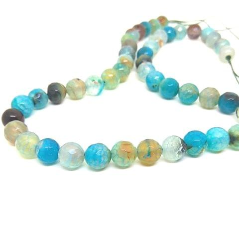 Mixed Colour Agate beads 8 mm agates set 1