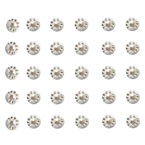 Buy 1 Get 1 Free Tiny Acrylic Silver Stones 200 PIECES in each pack