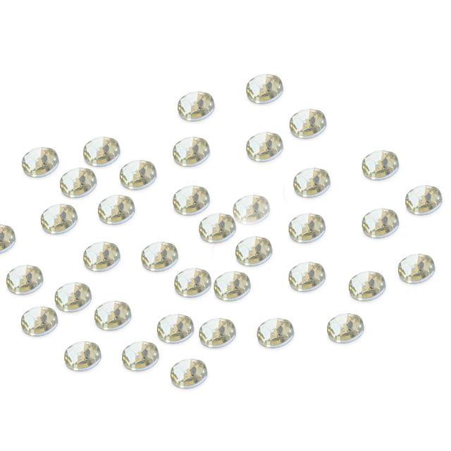 Foppish Mart  Small Circular Diamante Rhinestones _200 Pieces