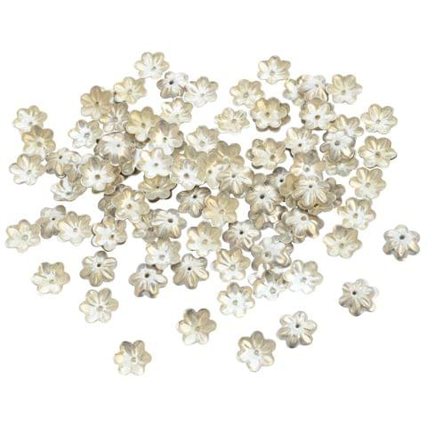 Foppish Mart Small Floral Bead Cap Fillers for Jewellery Making_50pieces