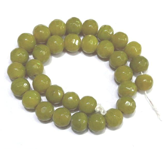 Glass beads.  3 string pack