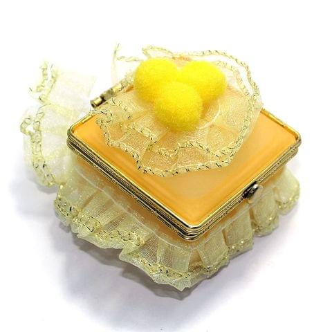 Fancy Ring Box With Inside Mirror
