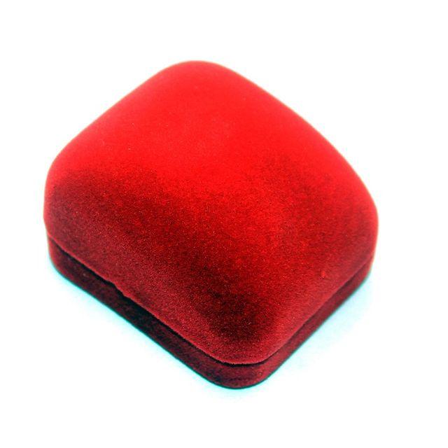 2 Pcs Velvet Ring Box