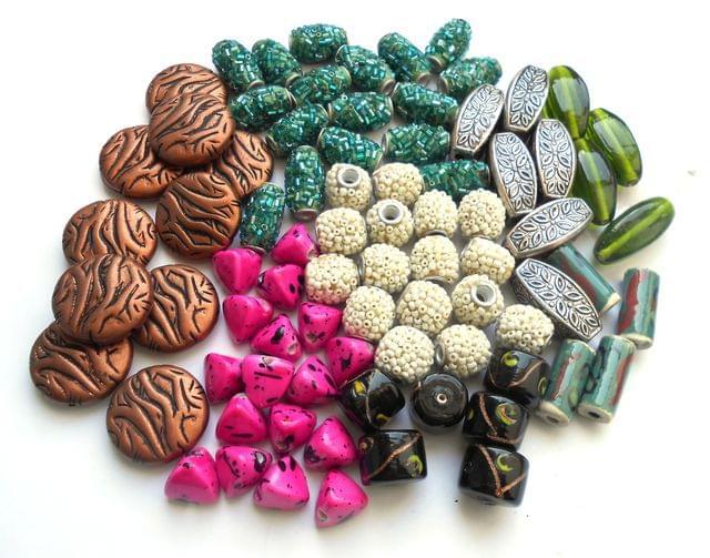 ssorted Beads Combo 12