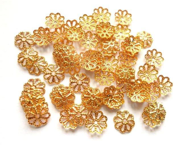 Golden Bead Caps