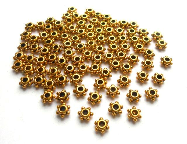 Antique Golden Spacer Beads