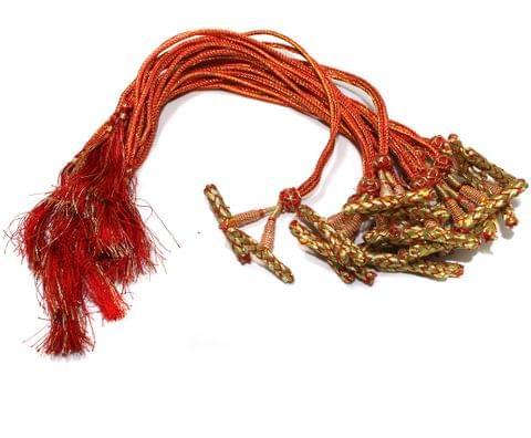1 Dozen Multi Strand Connector Necklace Dori Red