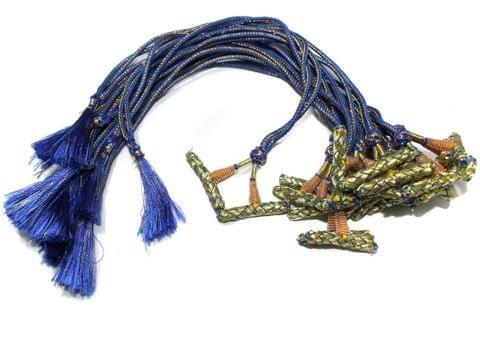 1 Dozen Multi Strand Connector Necklace Dori Blue