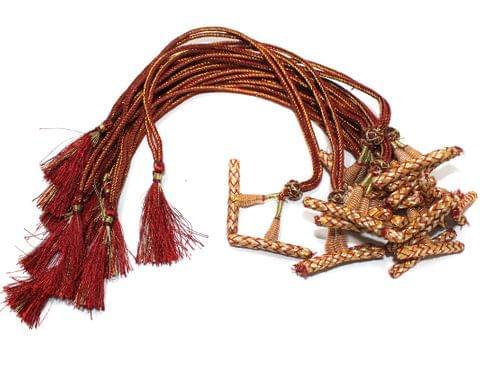 1 Dozen Multi Strand Connector Necklace Dori Maroon