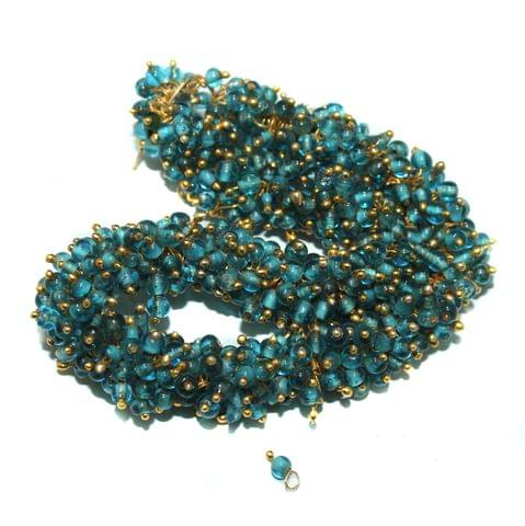 Loreal Glass Beads Turquoise 4mm For Earring, Necklace and Bracelet