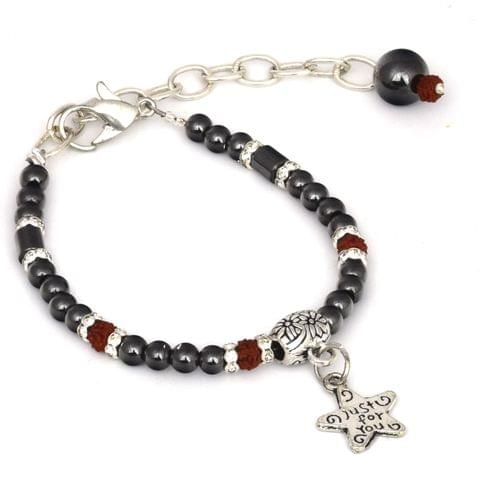 Rudraksha Magnetic Womens Bracelet