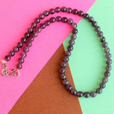 Amethyst Gemstone Necklace for High wisdom