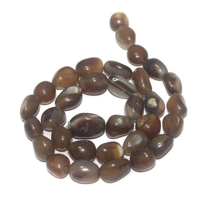 Tumbled Wine Onyx Stone Beads 10-13 mm