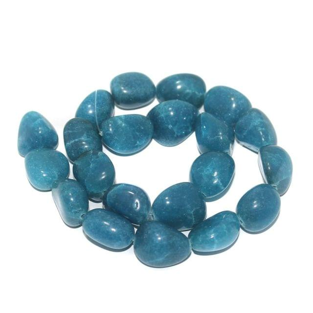 Tumbled Firoze Diy Rupala Stone Beads 24-16 mm