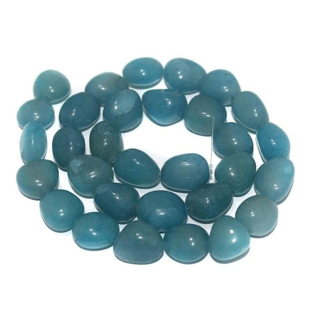 Tumbled Firoze Diy Stone Beads 13-10 mm