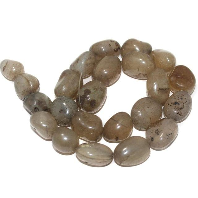 Tumbled Wine Onyx Stone Beads 22-15 mm