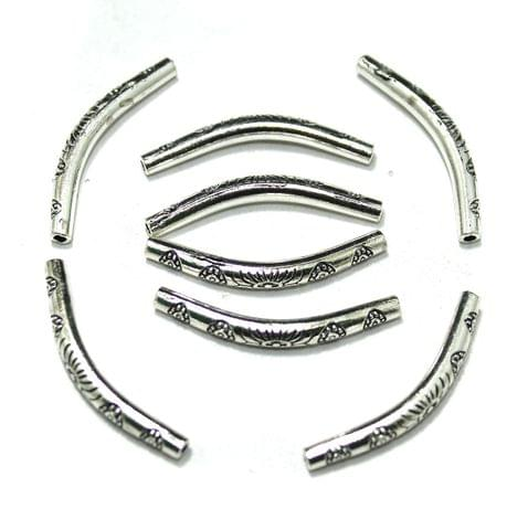 German Silver Pipe, Pack Of 20 Pcs, Size: 36x4mm