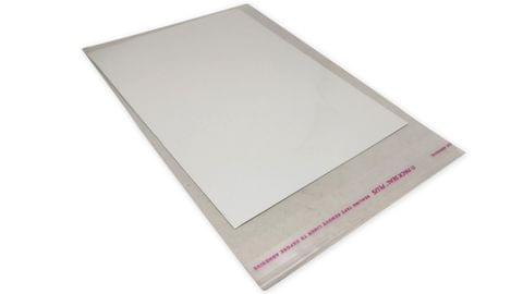 Paper Jewellery Necklace Display Cards with Covers 6.7x4.7inch (17x12CM) Rectangle White (Pack of 50 Pieces)