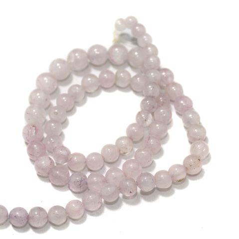 Pink DIY Gemstone Beads, Size 05-07mm, Pack Of 1 String