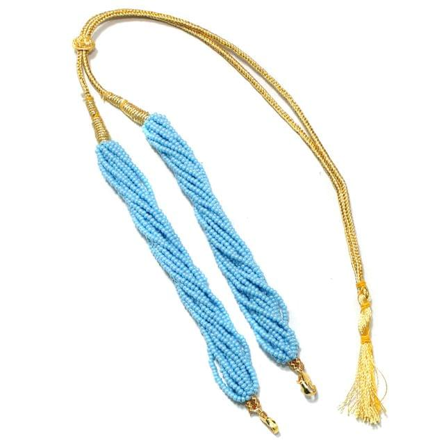 Seed Beads Pendant Dori Turquoise, Pack Of 1 Pc
