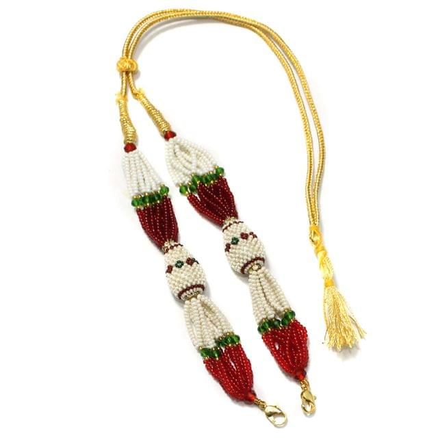 Designer Seed Beads Necklace Dori Multi, Pack Of 1 Pc