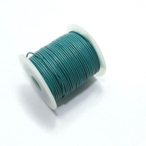 Jewellery Making Leather Cord 2mm Teal