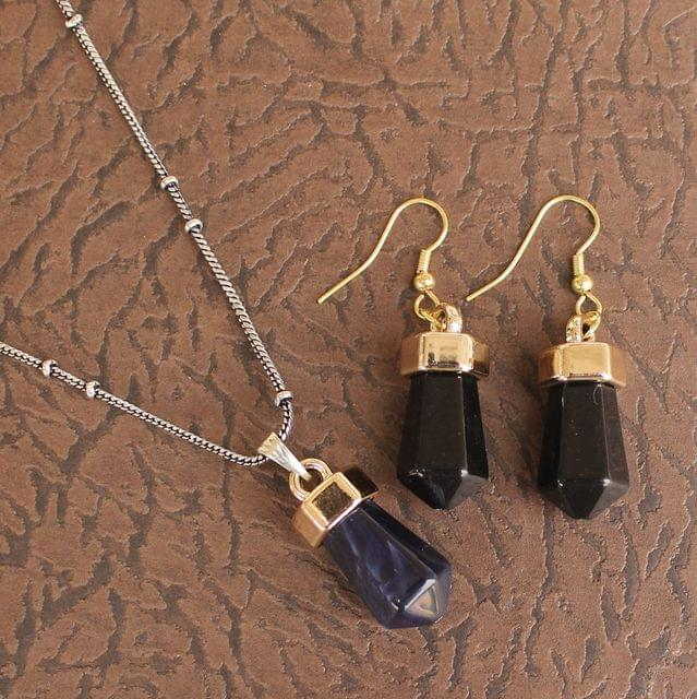 Light Weight Pendant Set Black