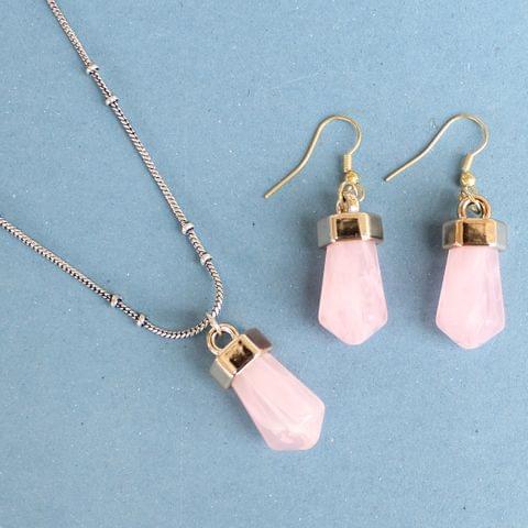 Light Weight Pendant Set Pink