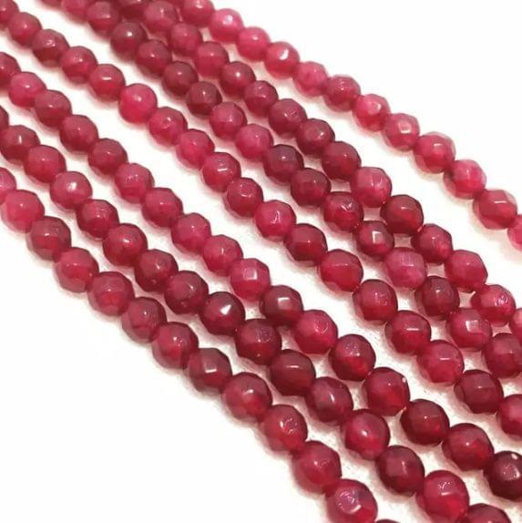 Rubi Color Agete Beads 4mm, 2 Strings