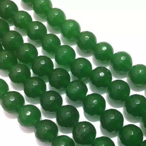 Green Agete Beads 4MM, 2 Strings
