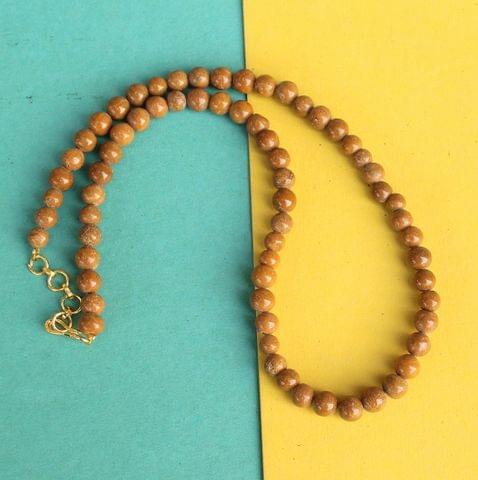 Camel Jasper Gemstone Necklace