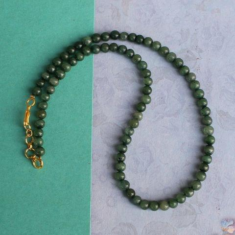 Green DIY Gemstone Necklace