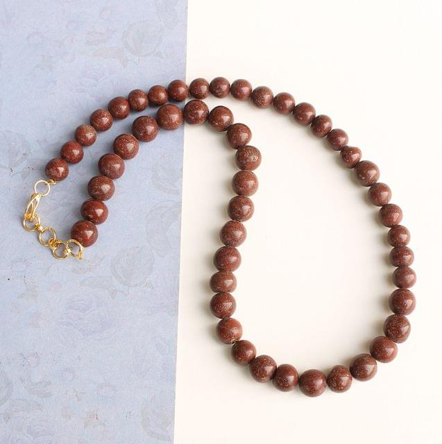 Brown Jasper Gemstone Necklace