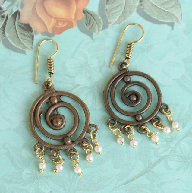 Aarambh Antique Earring