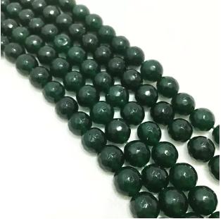 Green Onex Agete Beads 8mm 2 String